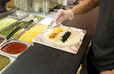Préparation de Fajitas chez Nachos Mexican grill (©kosept)