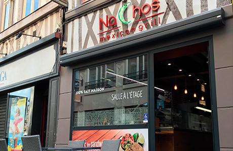 Nachos Mexican Grill rue du Gros Horloge