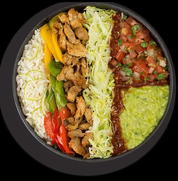 Nachos Mexican grill salade