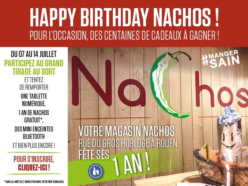 Nachos Mexican Grill Gros Horloge 1AN