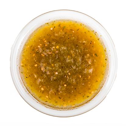 Menu Nachos Sauce Verde