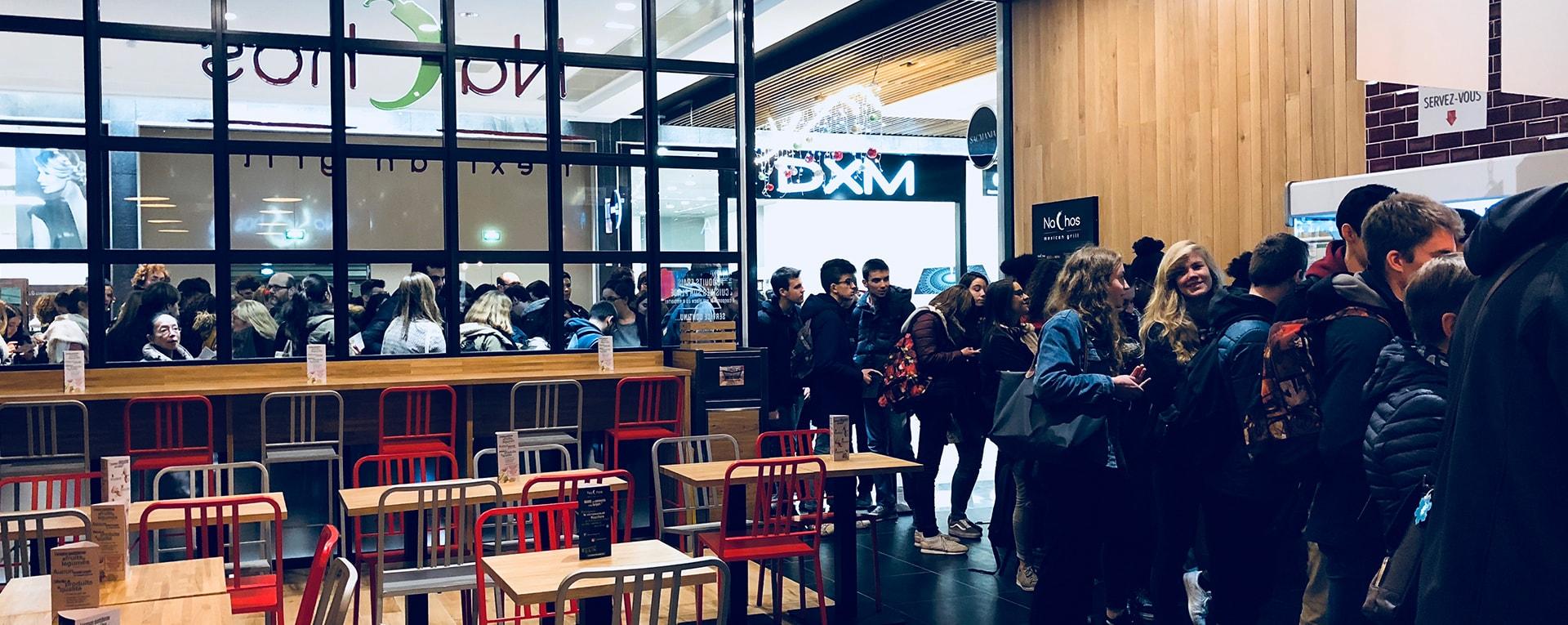 Nachos Ouverture du restaurant de Rennes