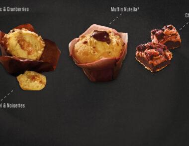 Nouvelles pâtisseries chez Nachos