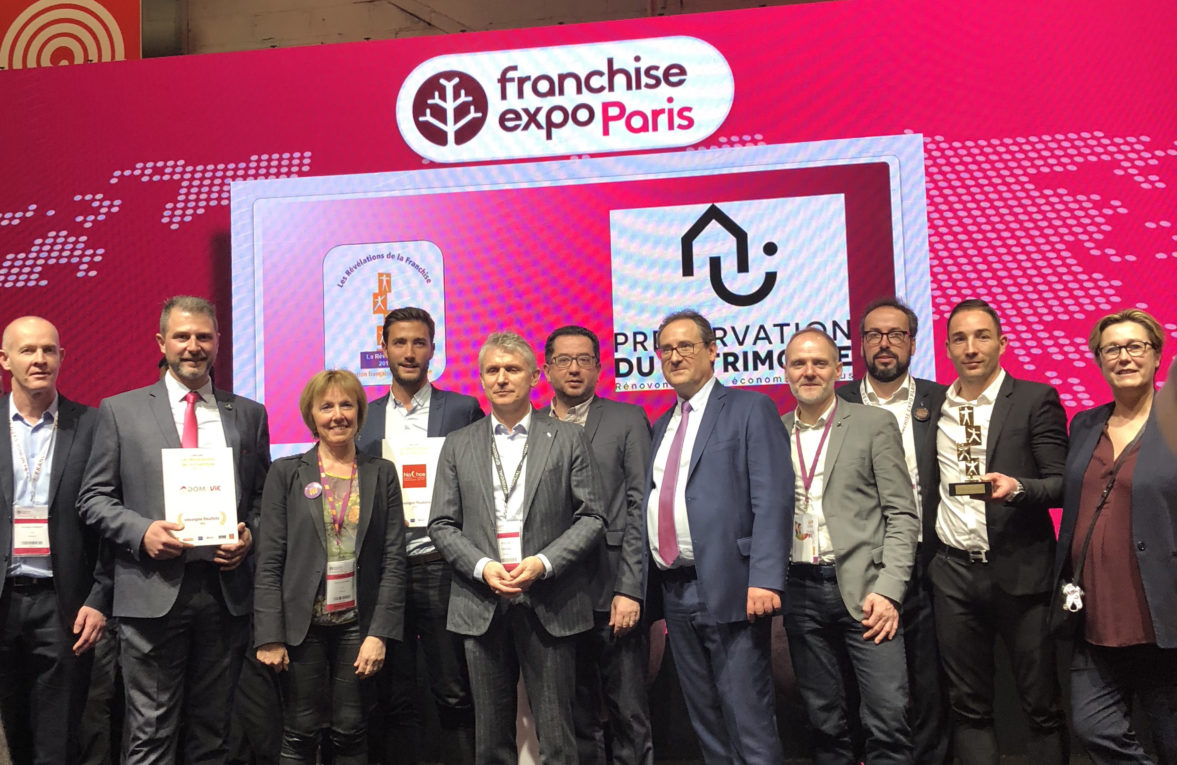 Podium Revelations de la Franchise 2018